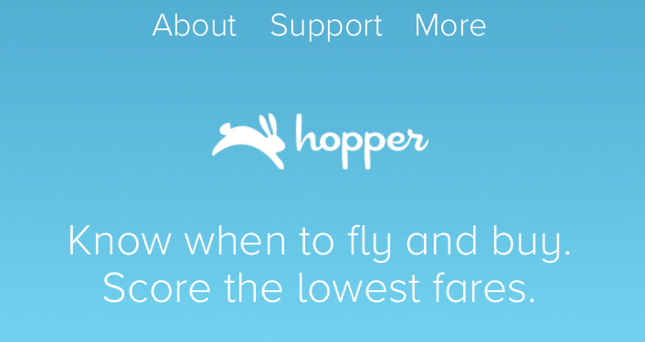 Hopper mobile app